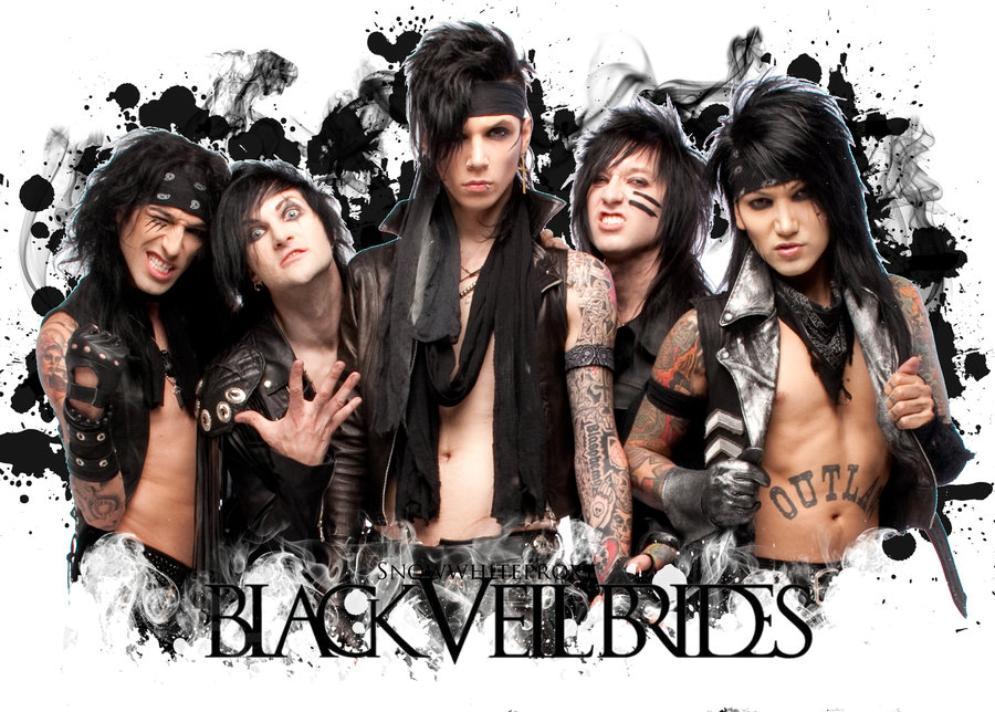 DeviantArt More Like Black Veil Brides Wallpaper by MADCHILLA 900x644