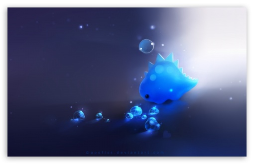 Blue Dino HD wallpaper for Standard 43 54 Fullscreen UXGA XGA SVGA 510x330