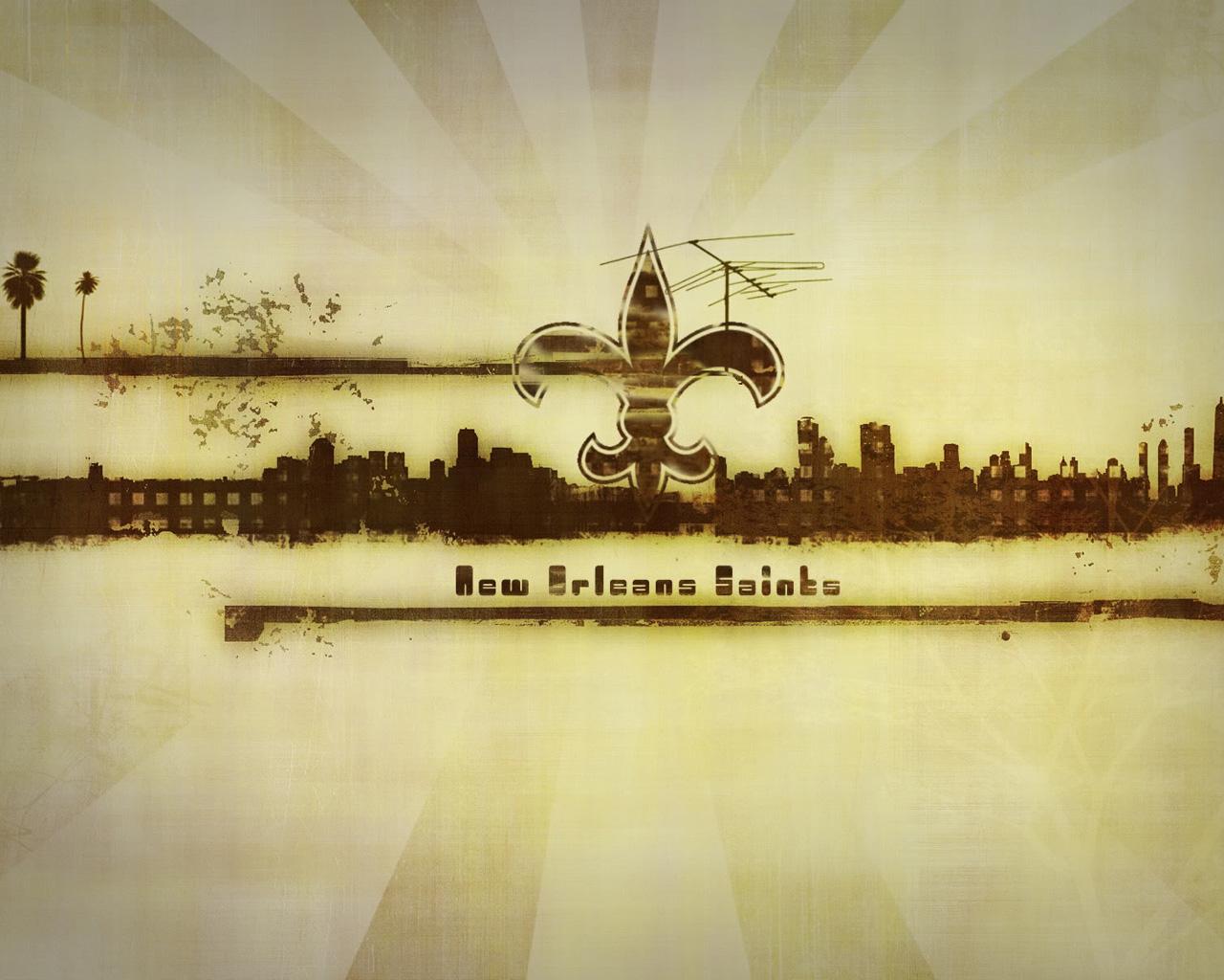 new orleans saints logo wallpaperjpg 1280x1024