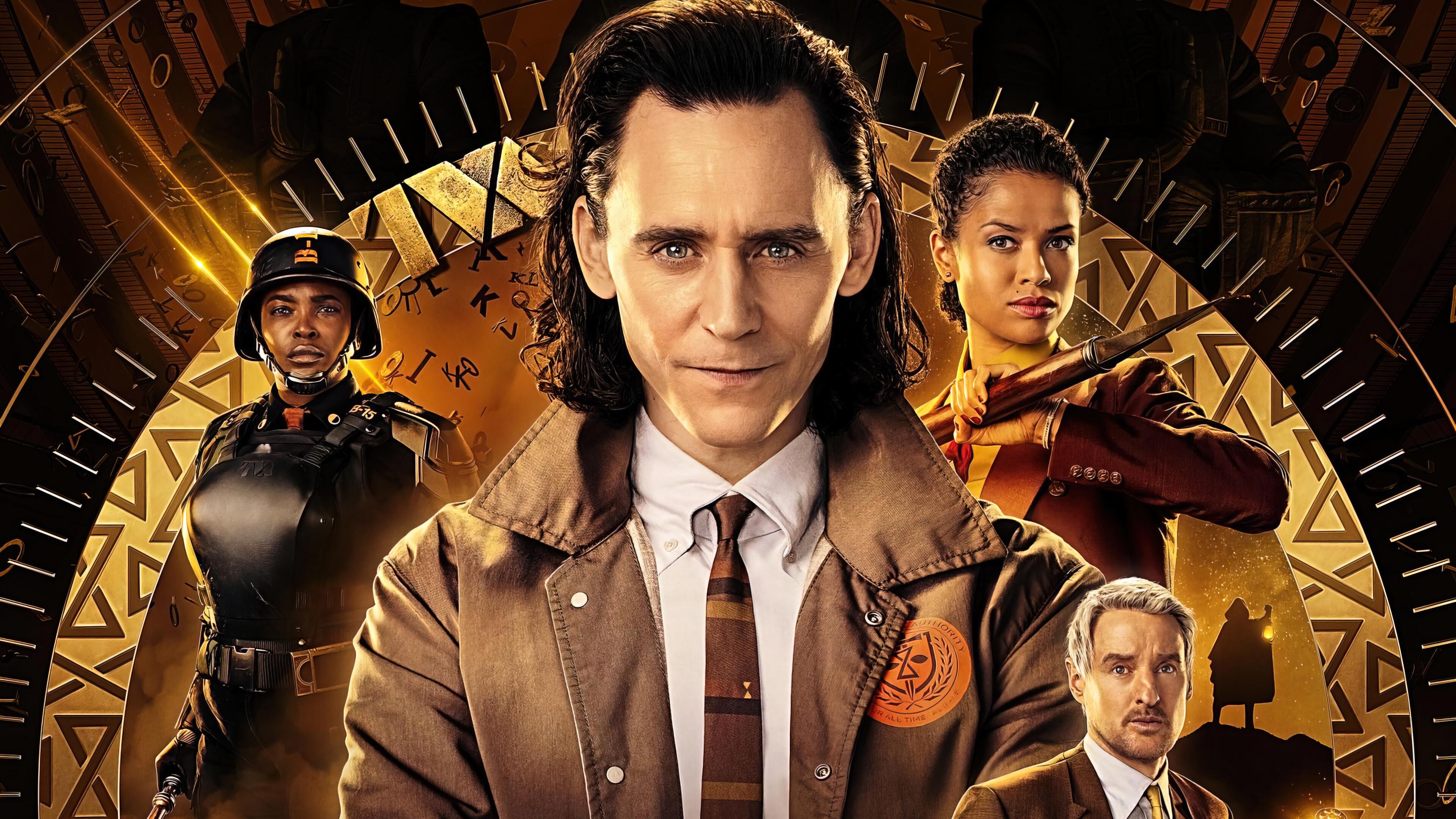 Loki TV Series Character Poster 4K Phone iPhone Wallpaper 7970a 3840x2160