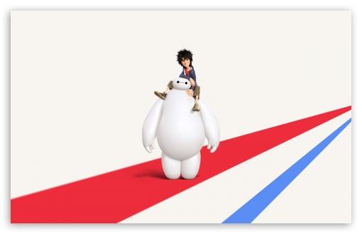 Big Hero 6 Disney Hiro and Baymax HD wallpaper for Standard 43 54 510x330