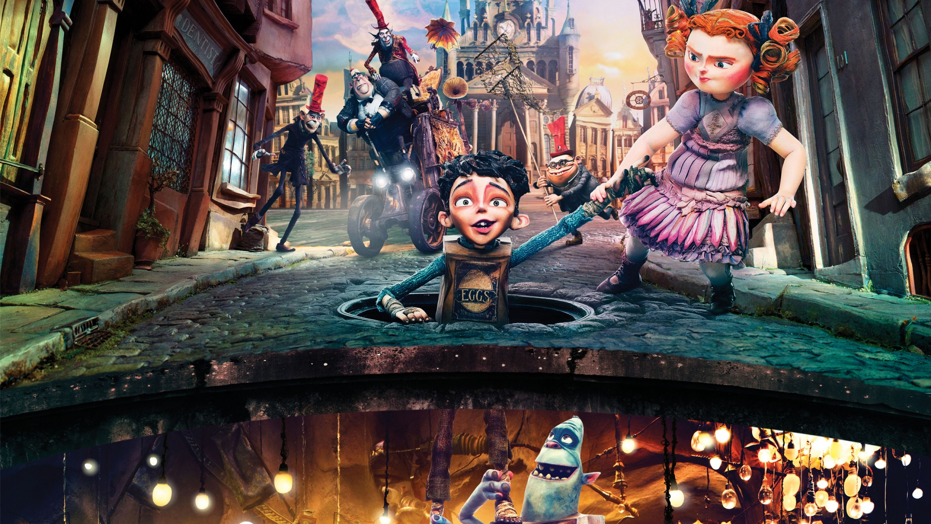 The Boxtrolls 2014 Movie Wallpapers in jpg format for download 1920x1080