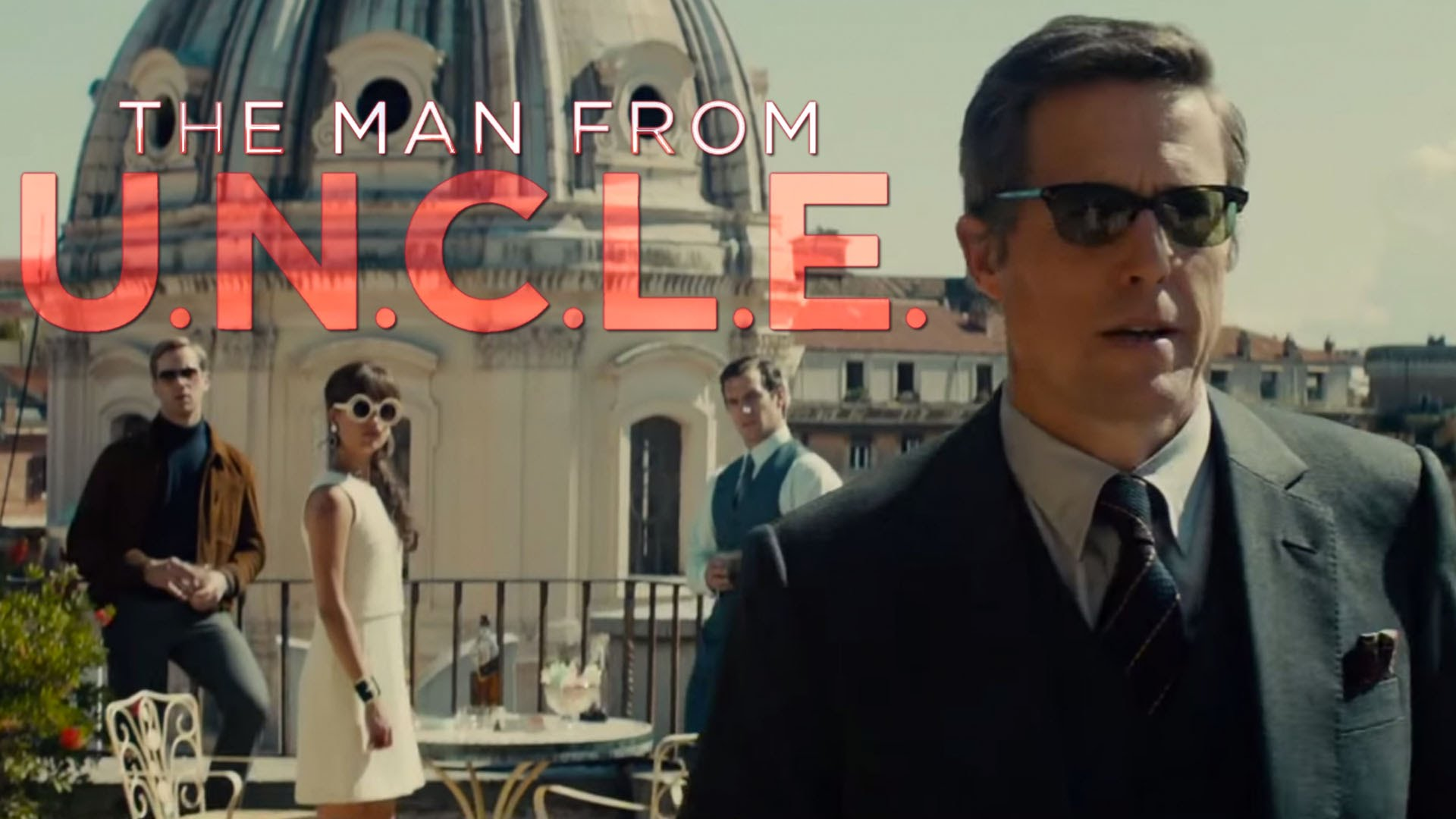 Second THE MAN FROM UNCLE Trailer Review   AMC Movie 1920x1080