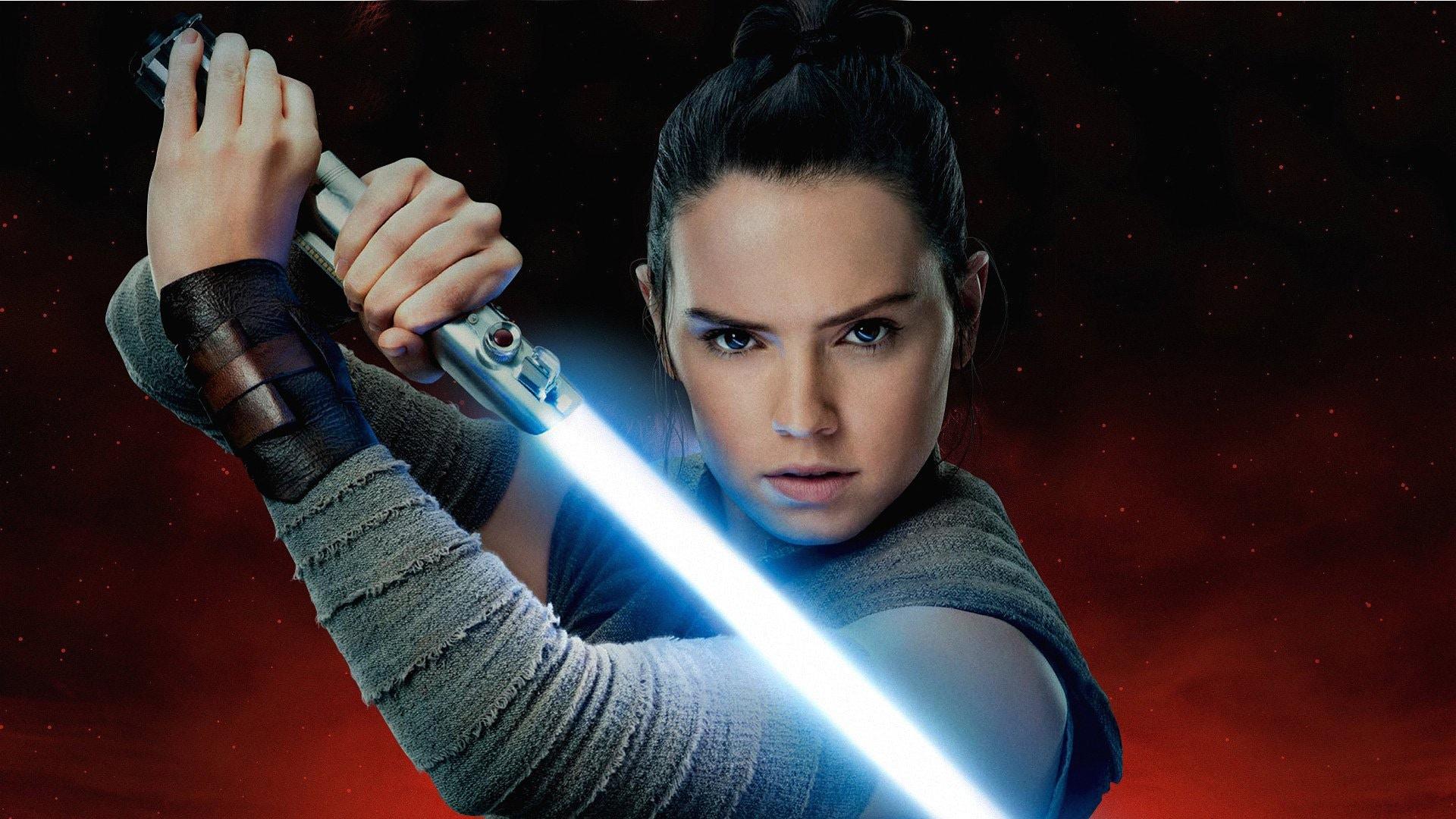 Free Download Rey Aka Daisy Ridley In Star Wars The Last Jedi Full