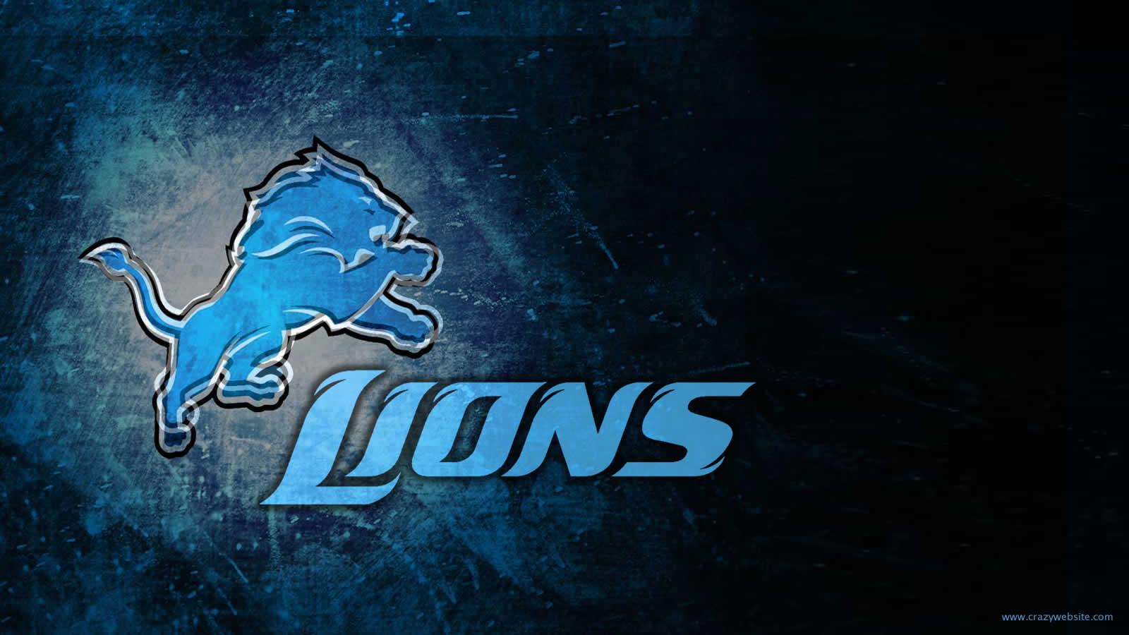 Detroit Lions Team Logo Wallpaper 1600x900 1600x900