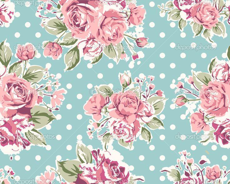 Vintage Pink Wallpaper Wallpapersafari