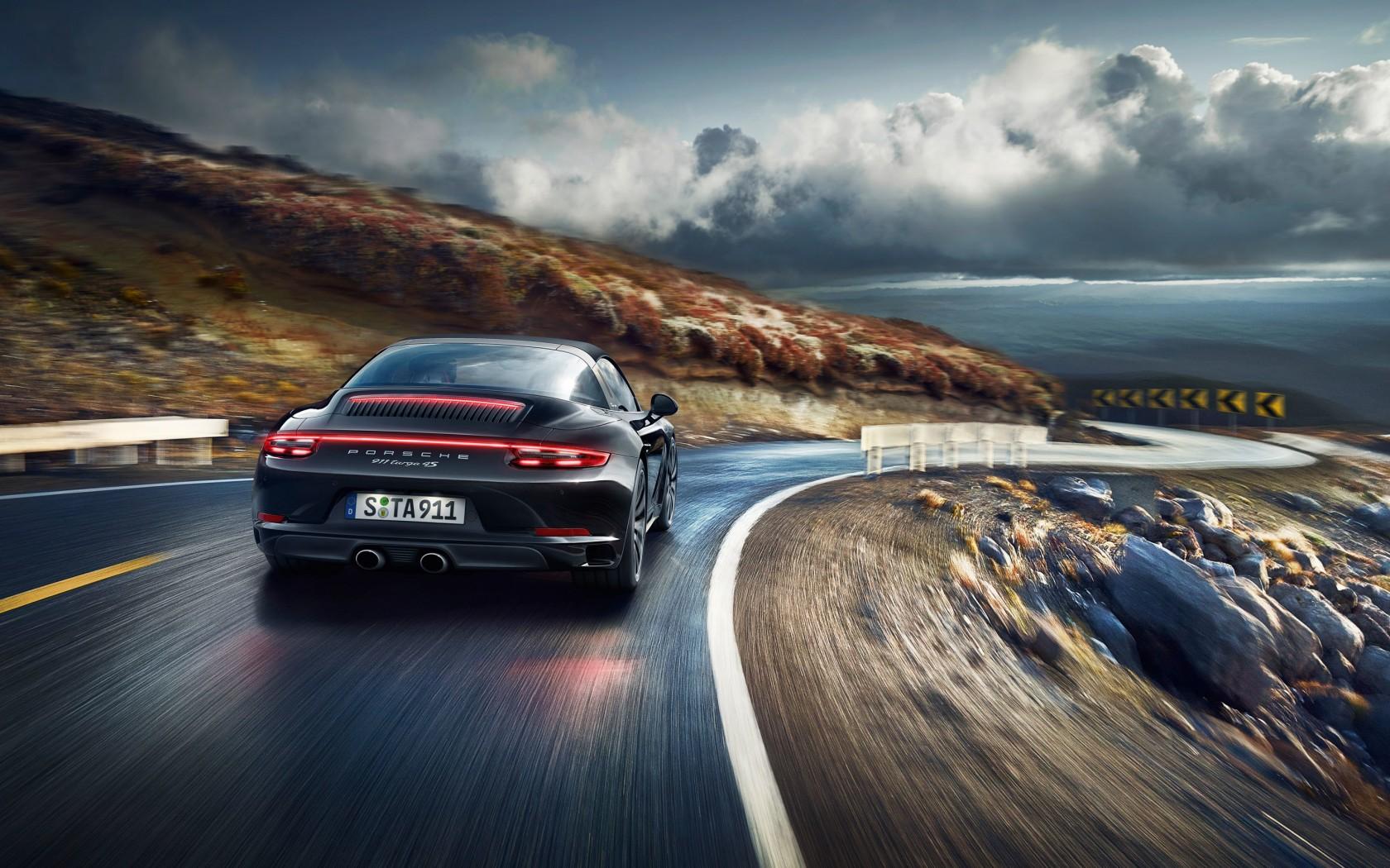 Porsche 911 Targa 4S Desktop Wallpaper 1680x1050