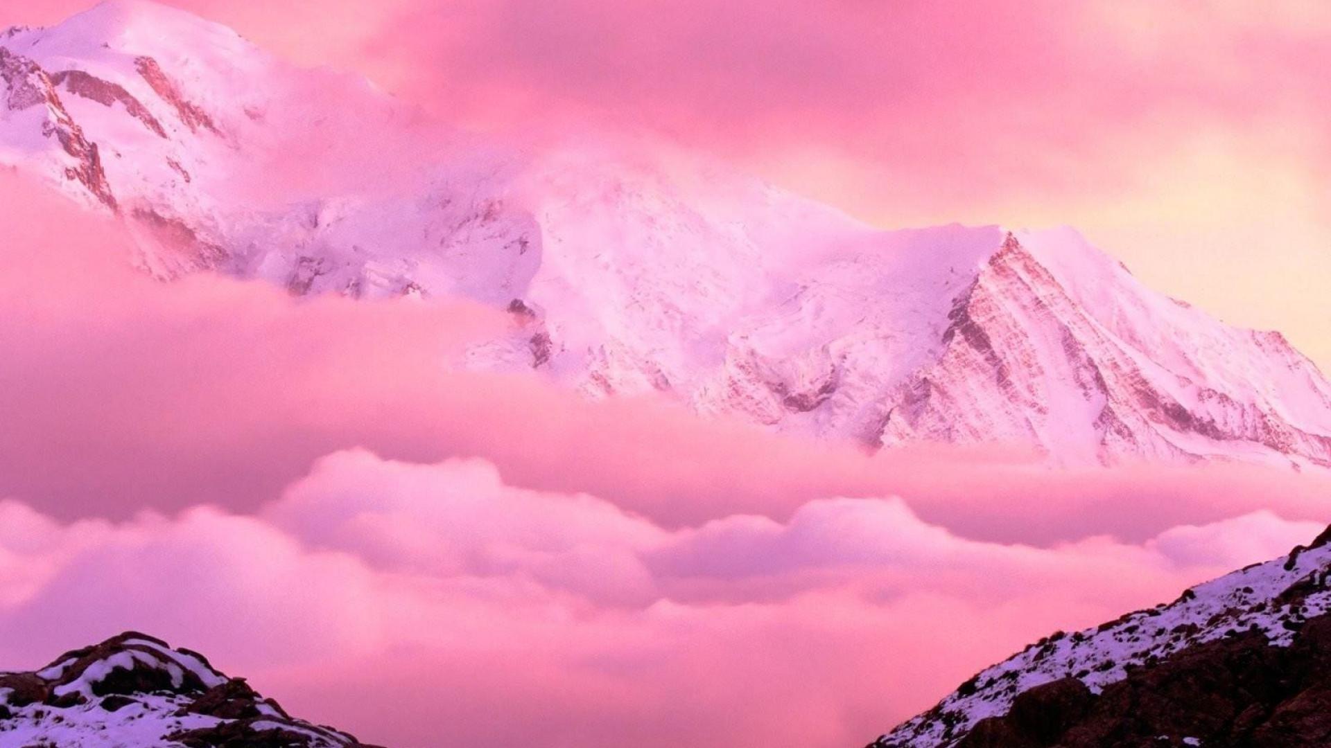 Pink Landscape Wallpapers   Top Pink Landscape Backgrounds