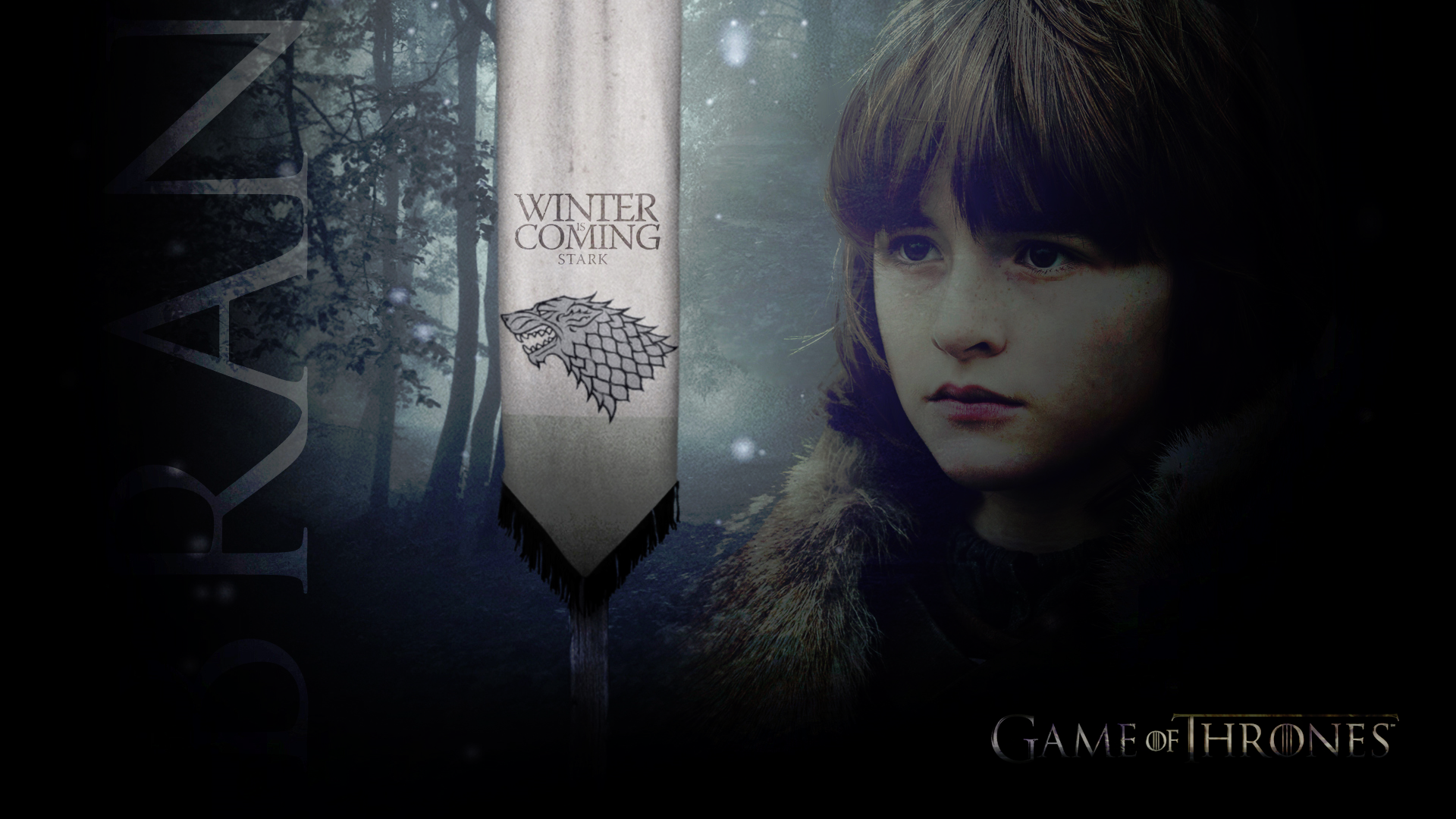 Bran Stark   Game of Thrones Wallpaper 24367783 1920x1080