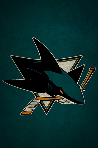 San Jose Sharks iPhone Wallpaper Flickr   Photo Sharing 333x500