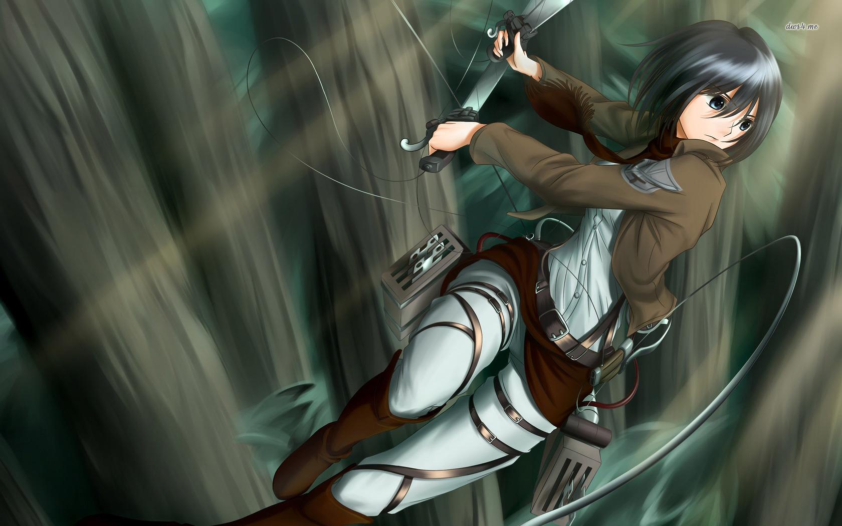 Mikasa Ackerman  Attack on Titan wallpaper   Anime wallpapers   18604 1680x1050