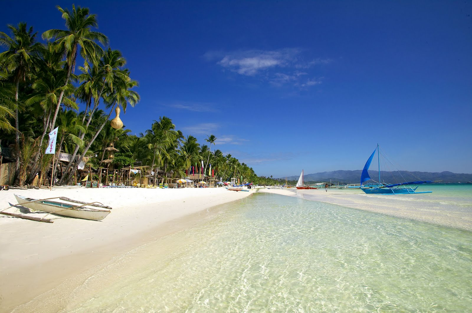 Boracay Island Beach Philippines Great Panorama Picture 1600x1063