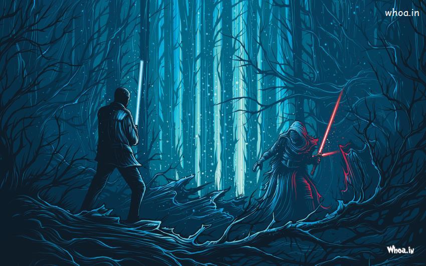 the Force Awakens Kylo Ren HD Desktop WallpaperMovies HD Wallpaper 850x531