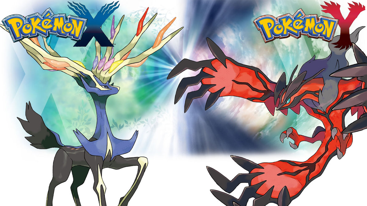 Pokemon X Y   Wallpaper   Xerneas and Yveltal by Thelimomon on 1191x670