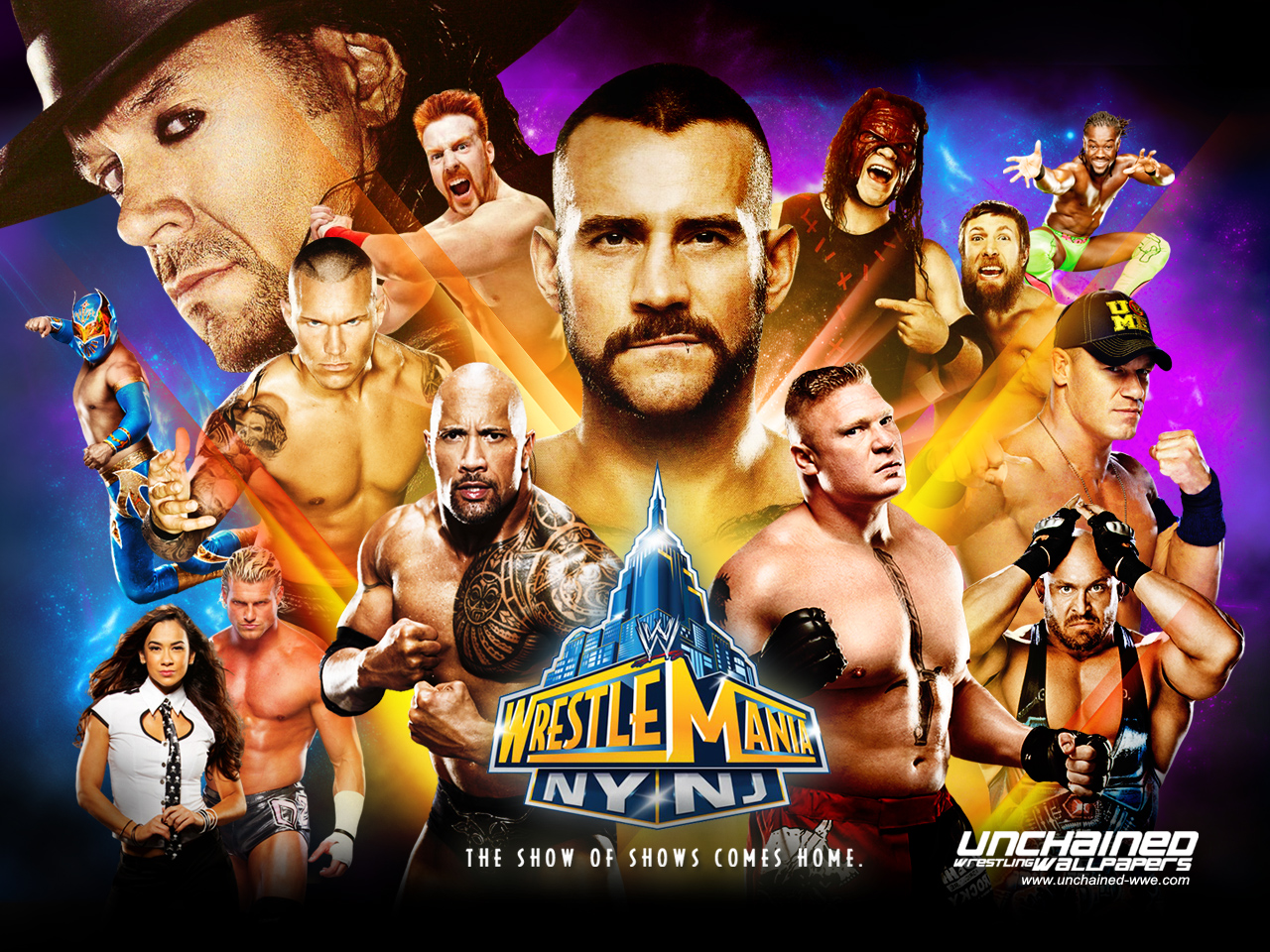 Wrestlemania 29   WWE Wallpaper 33251537 1280x960