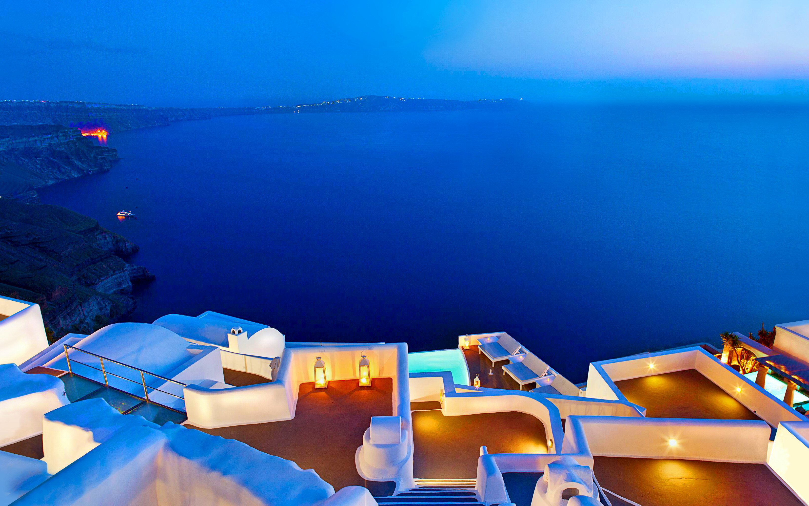 62 Santorini HD Wallpapers Background Images 3277x2048