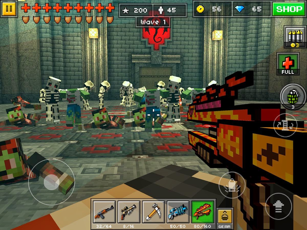 whats new and improved in the new Pixel Gun 3D Android app update 1200x900