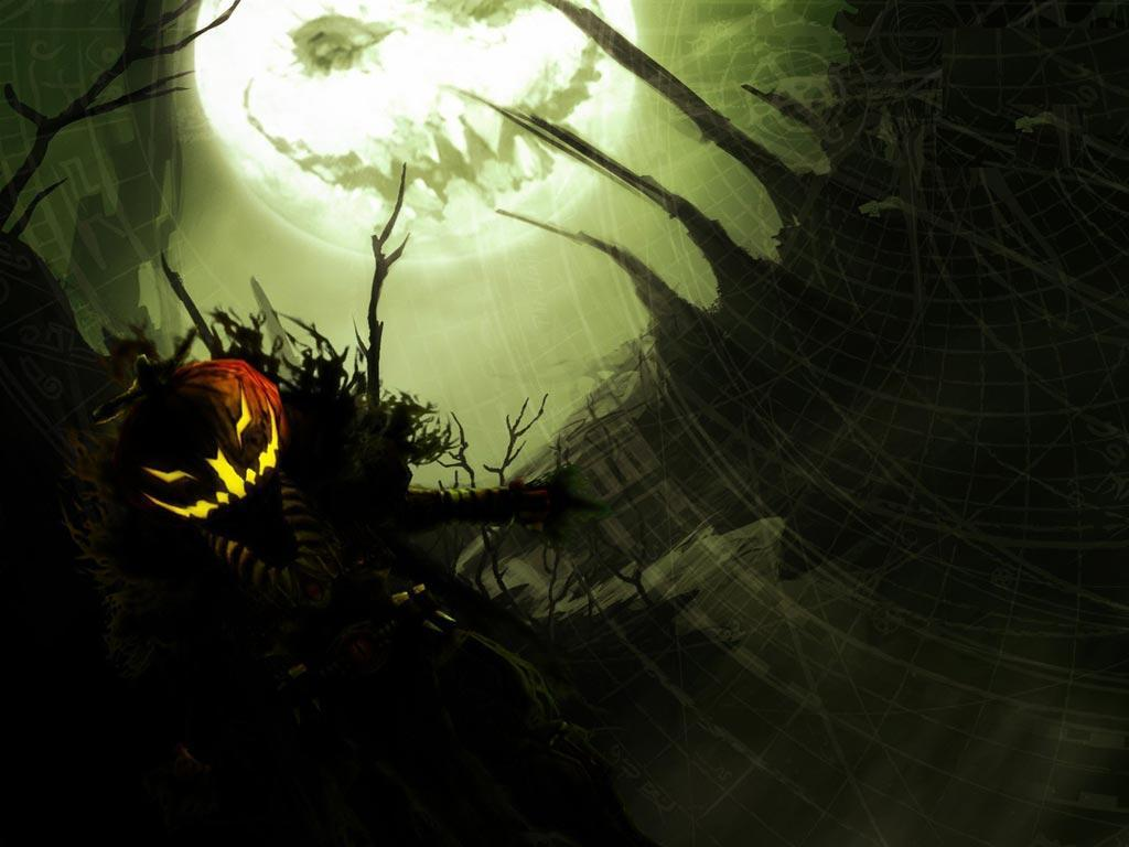 Scary Halloween Wallpapers HD 1024x768