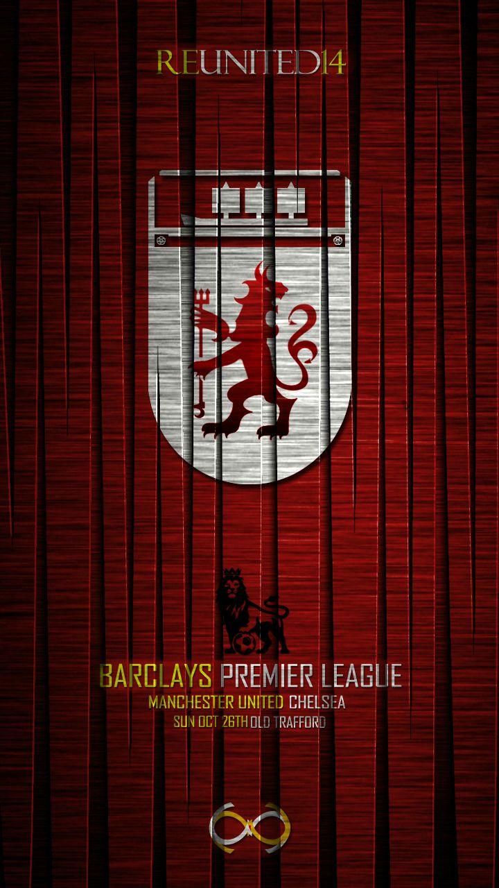 Matchday Poster Manchester United vs Chelsea reddevils 720x1280