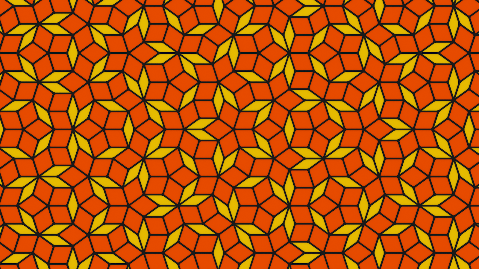 download From SPACE Tutorial Penrose Tiling in Blender 1600x900