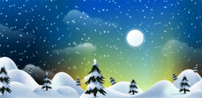 live snowflake wallpaper
