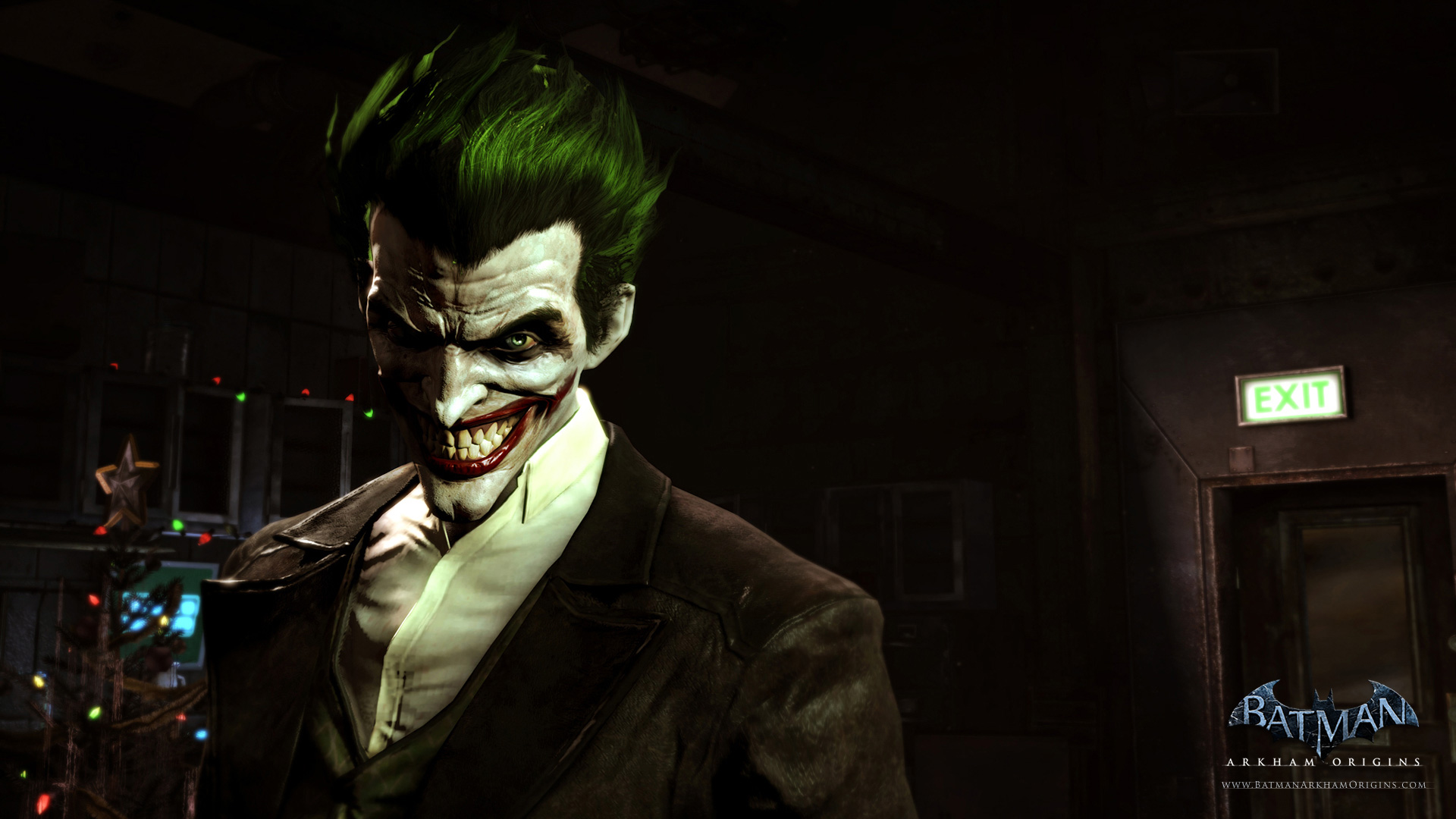 Joker Deathstroke Gordon and Batman feature in these HD Arkham 1920x1080