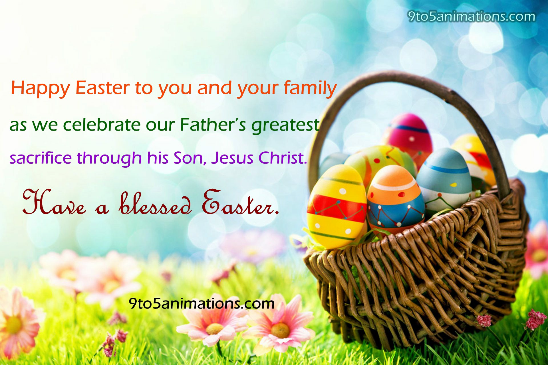 Easter Wishes Quotes HD Wallpapers 9To5AnimationsCom 1920x1280