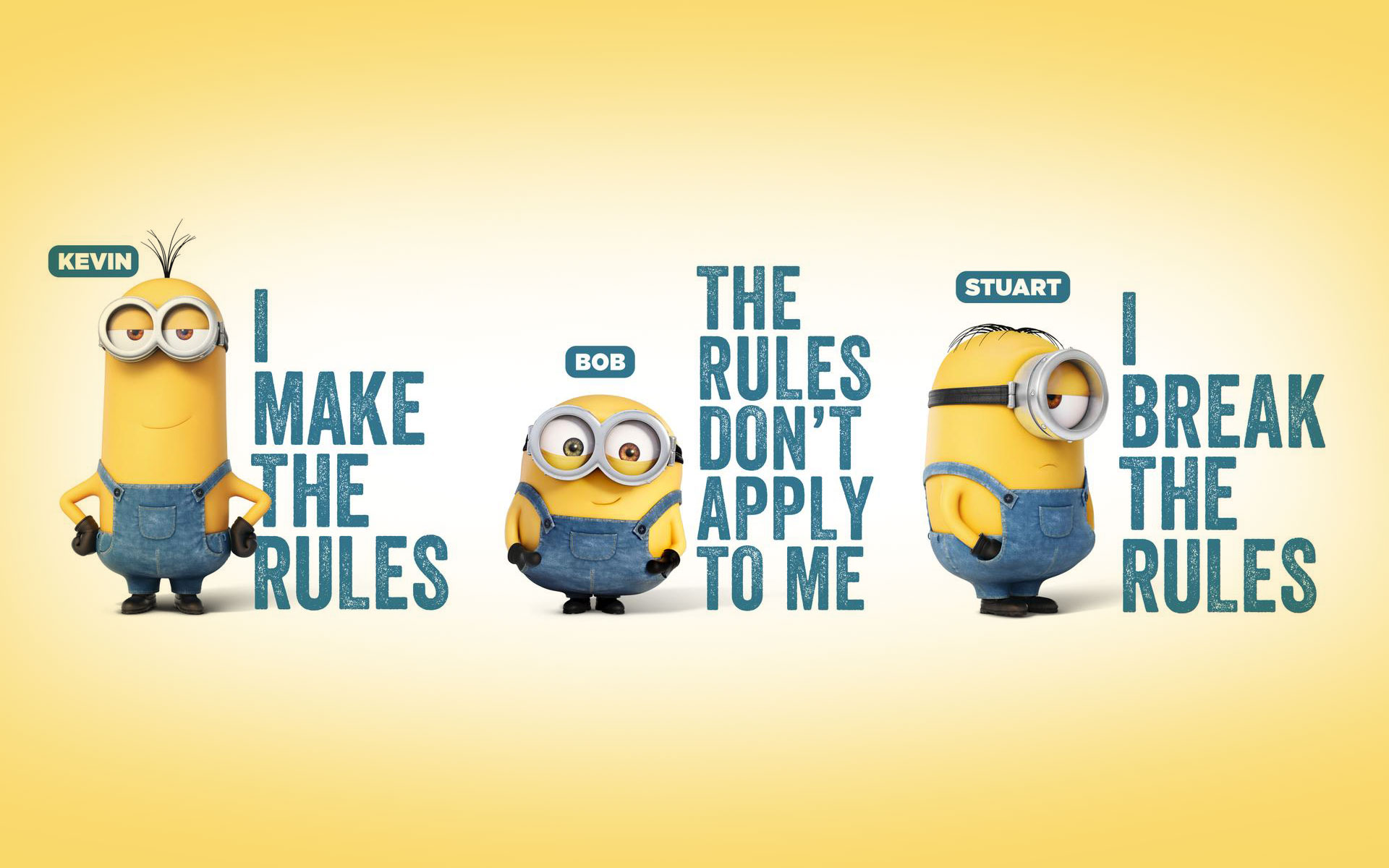 A Cute Collection Of Minions Movie 2015 Desktop Backgrounds 1920x1200