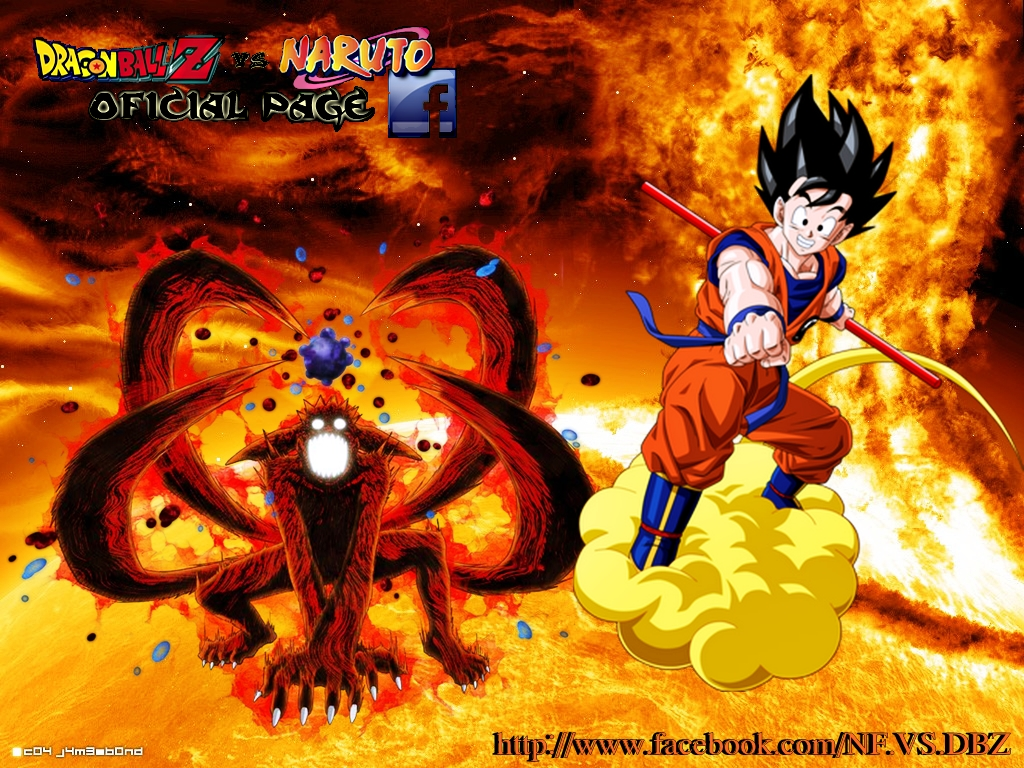 Dragon ball z as melhores imagens Naruto vs Dragon ball z wallpapers 1024x768