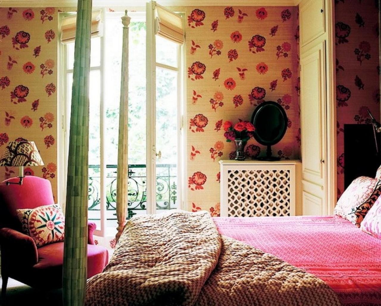 Girls bedroom wallpaper design ideas picture buy bedroom wallpaper 1280x1028
