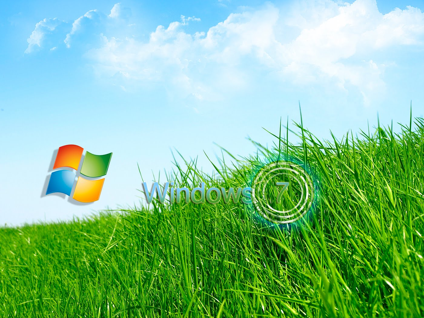 Free Download Wallpapers Windows 7 Grass Wallpapers 1400x1050