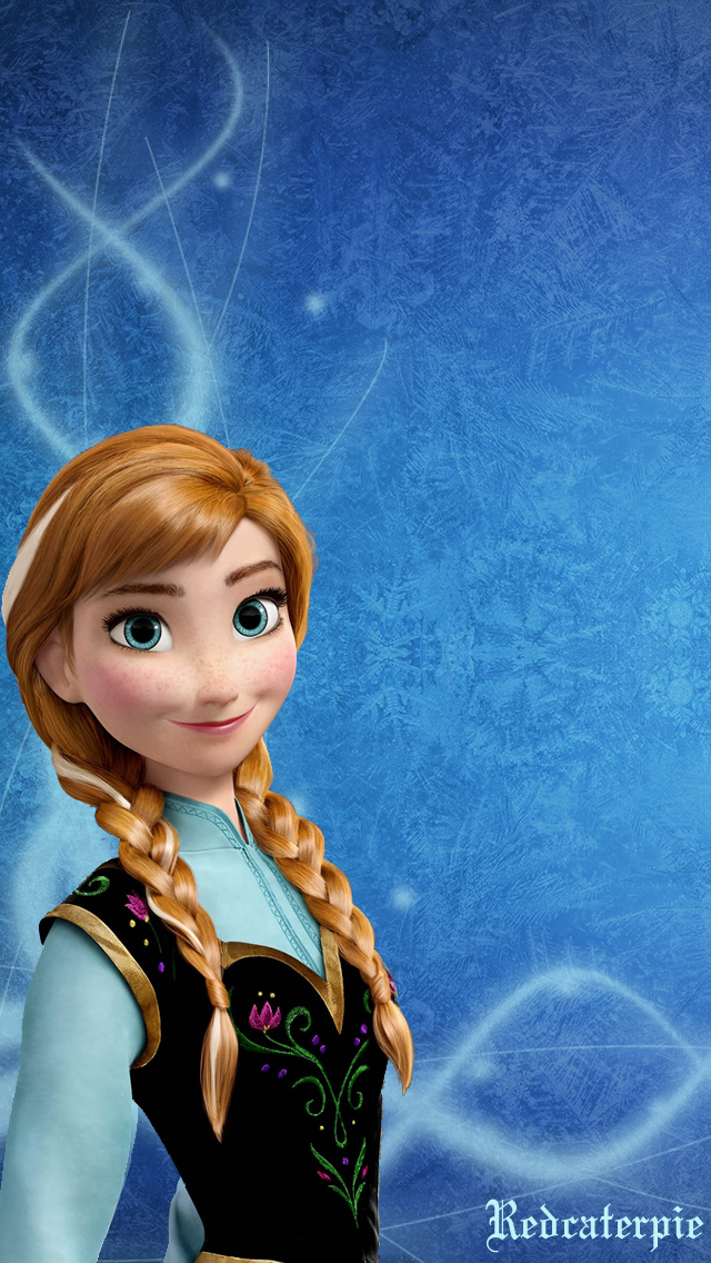 Disney Frozen Anna Iphone Wallpaper 640x1136