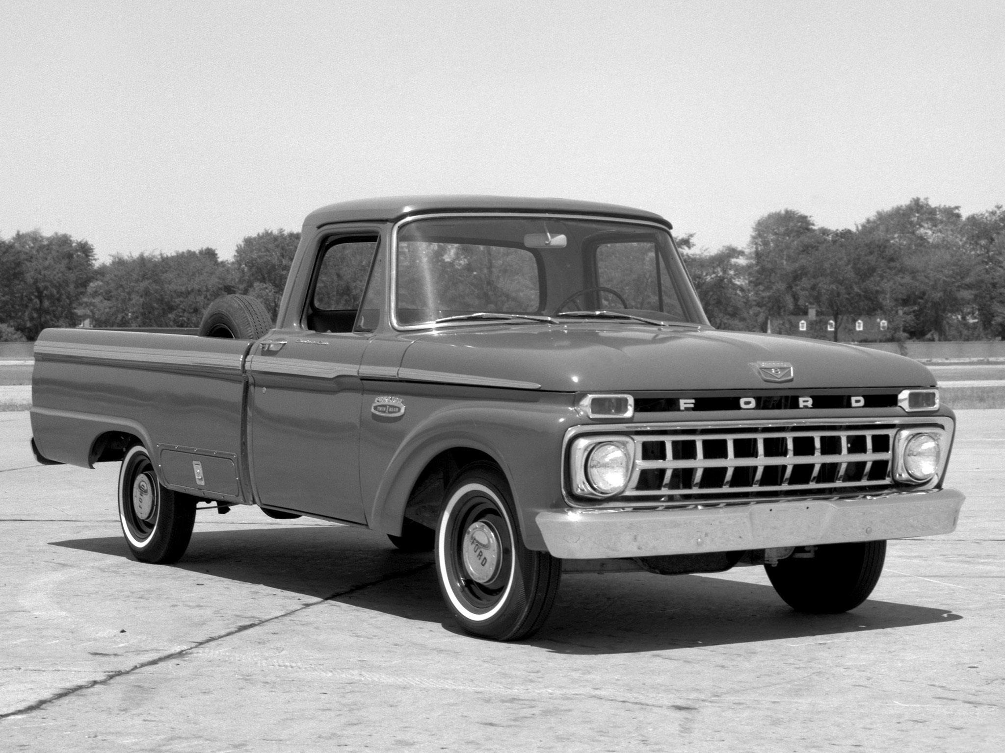 Classic Ford Truck Wallpaper 1965 ford f 100 truck classic 2048x1536