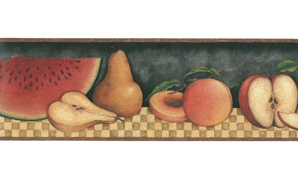 Home 30902310 Fruit Wallpaper Border 1000x600