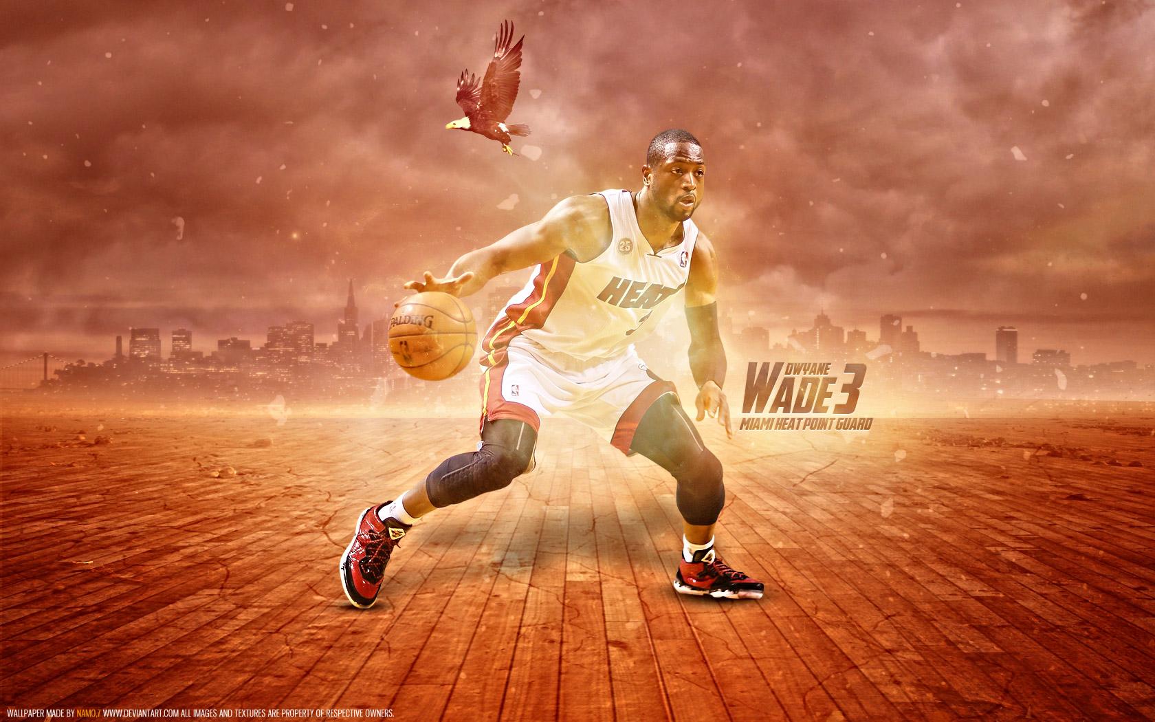 Dwyane Wade Heat 2013 1680x1050 Wallpaper   Basketball Wallpapers 1680x1050