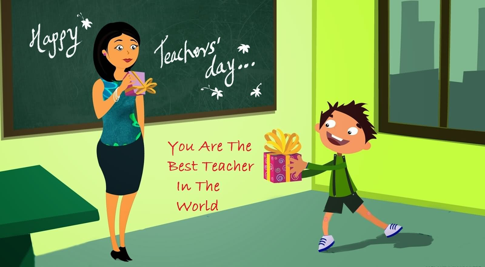40 Best Greetings For Happy World Teachers Day 2016 Images And Photos 1600x880