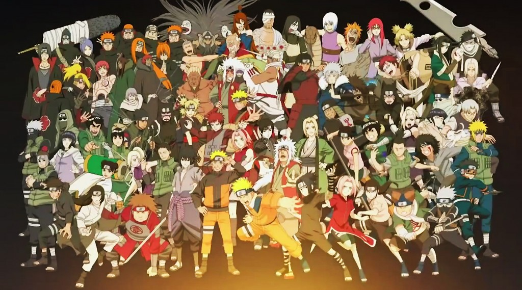 all anime characters hd wallpaper wallpapersafari