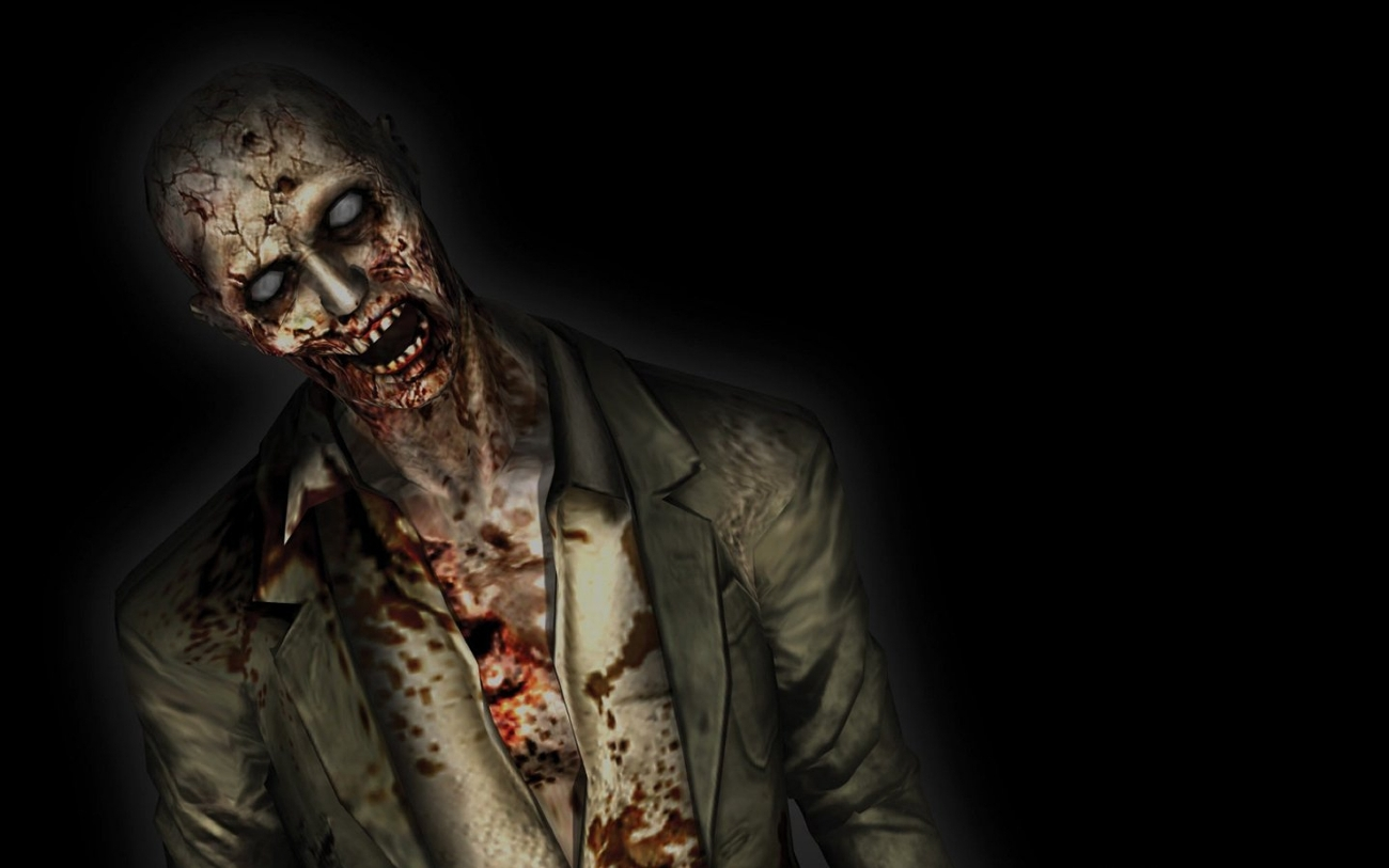 Wallpaper Zombie Black Background photos of The Unique Trend of Zombie 1300x813
