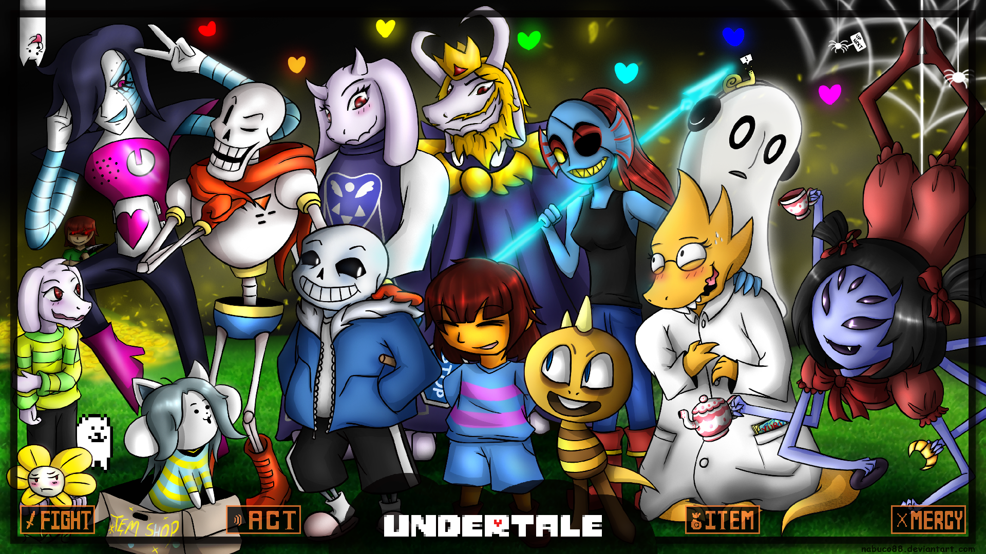 Undertale Wallpaper Related Keywords Suggestions   Undertale 1920x1080