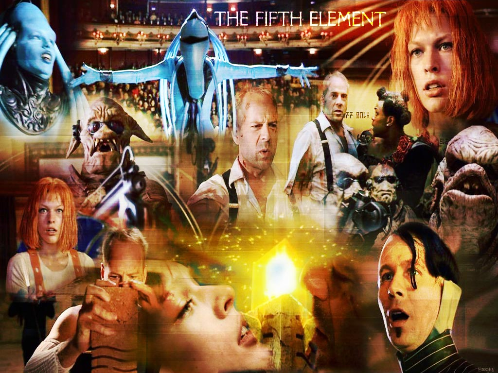 The Fifth Element Wall...