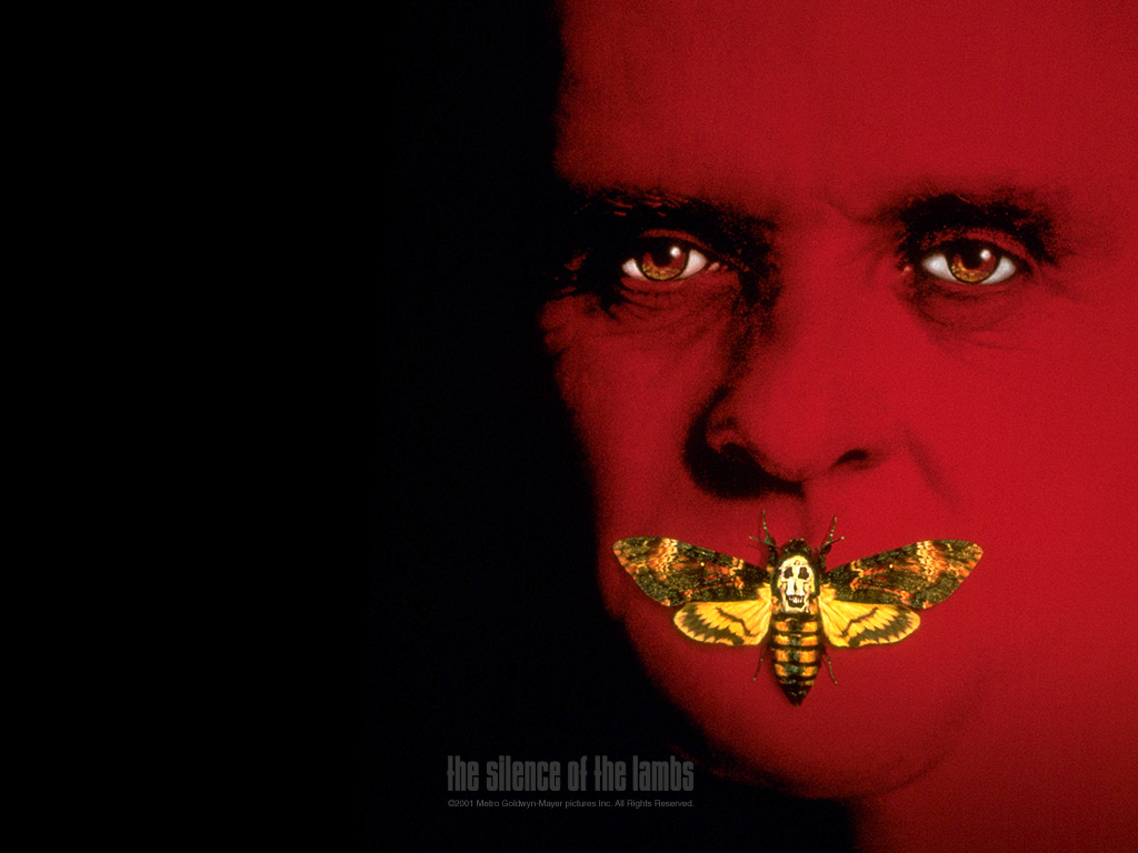 The Silence of the Lambs   Horror Movies Wallpaper 77527 1024x768