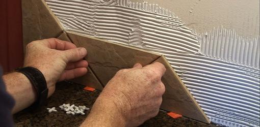 Comments on Installing a Ceramic Tile Backsplash Over Drywall 510x250