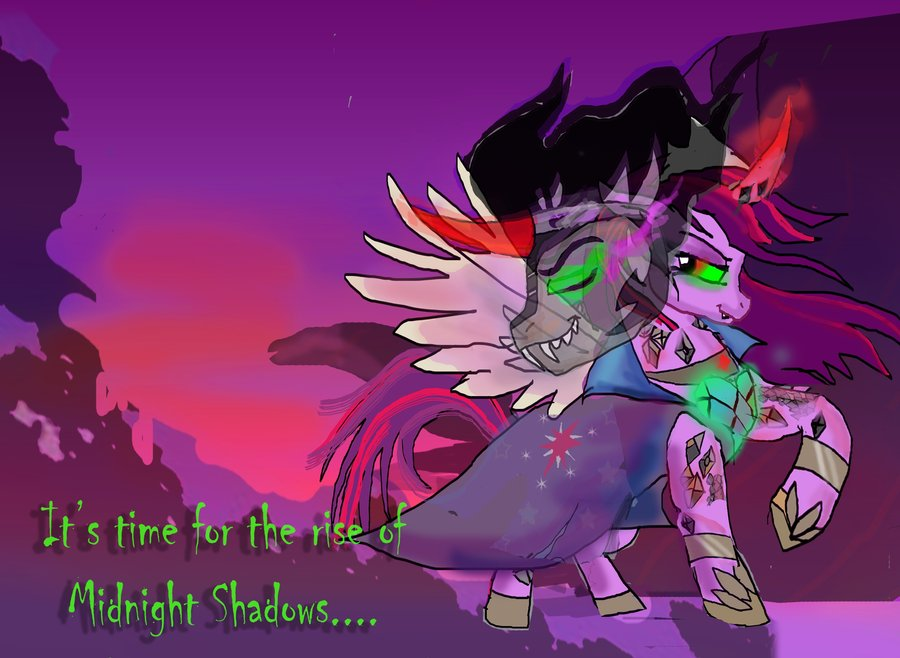Twilight Sparkle  Queen of shadows Chapter 5 by raggyrabbit94 on 900x658