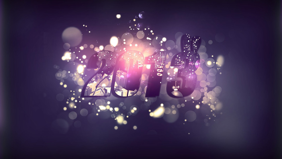 Happy New Year 2013   Download Happy New Year HD Wallpapers for 1136x640
