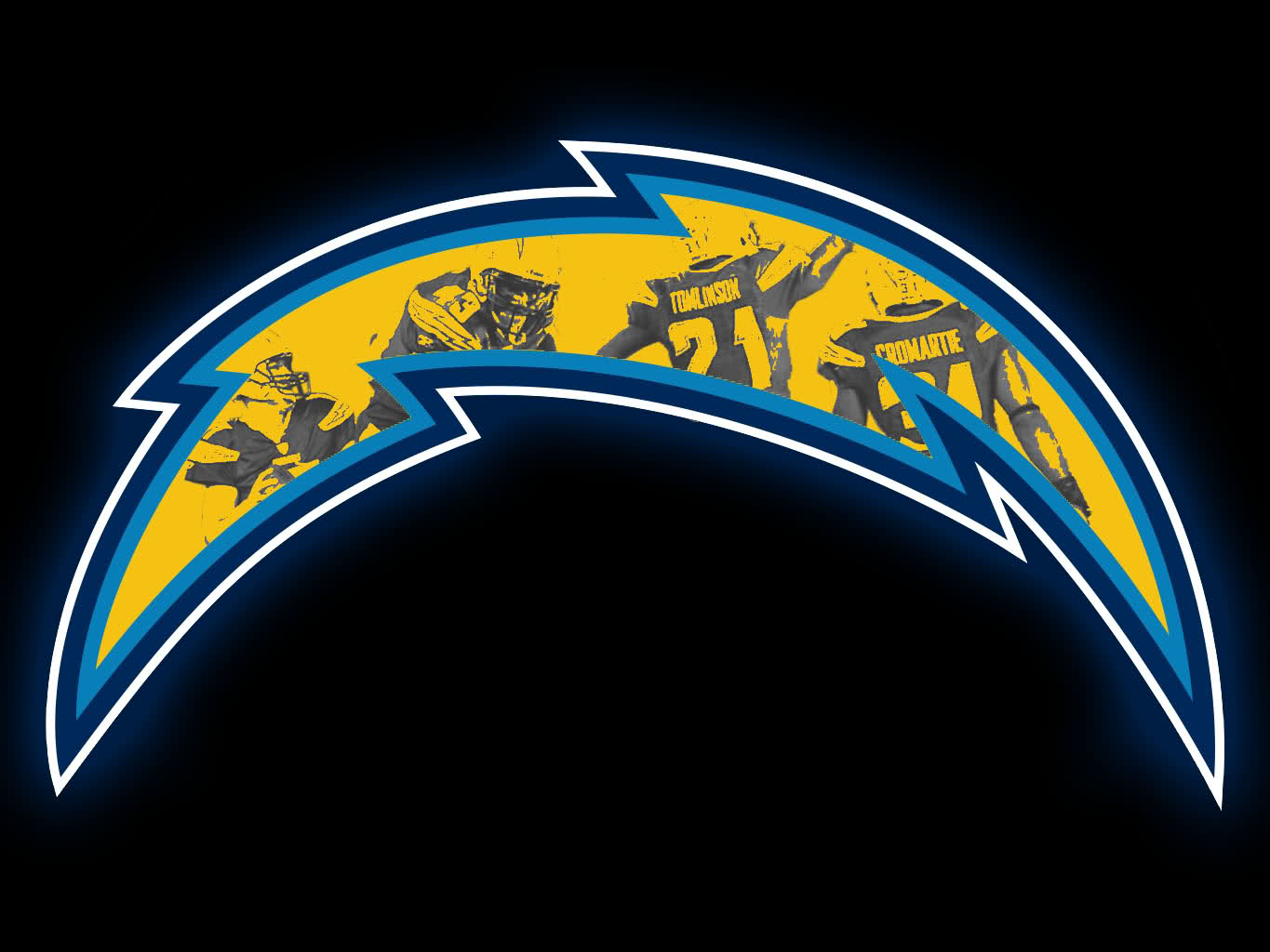 How To Draw La Chargers Logo For A Cake