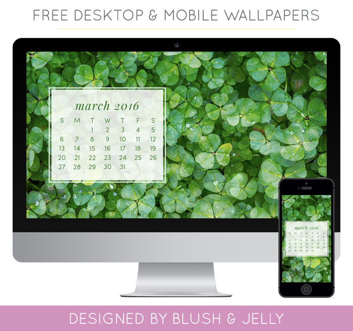 March Calendar Wallpaper for Download 700x655