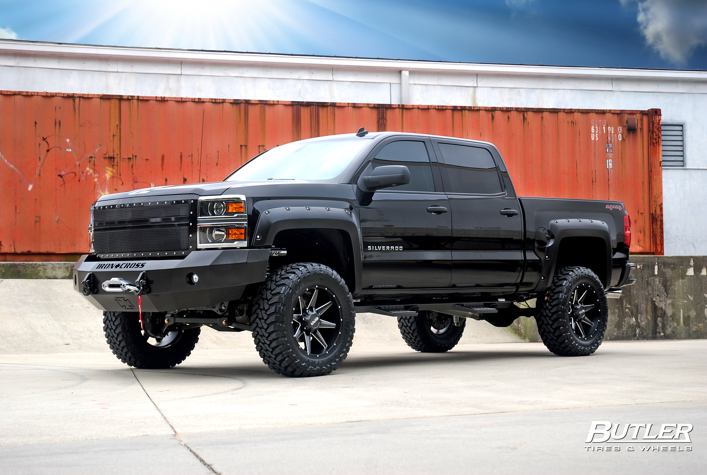 Lifted 2014 Chevy Silverado LTZ   Rides Magazine 2896x1944
