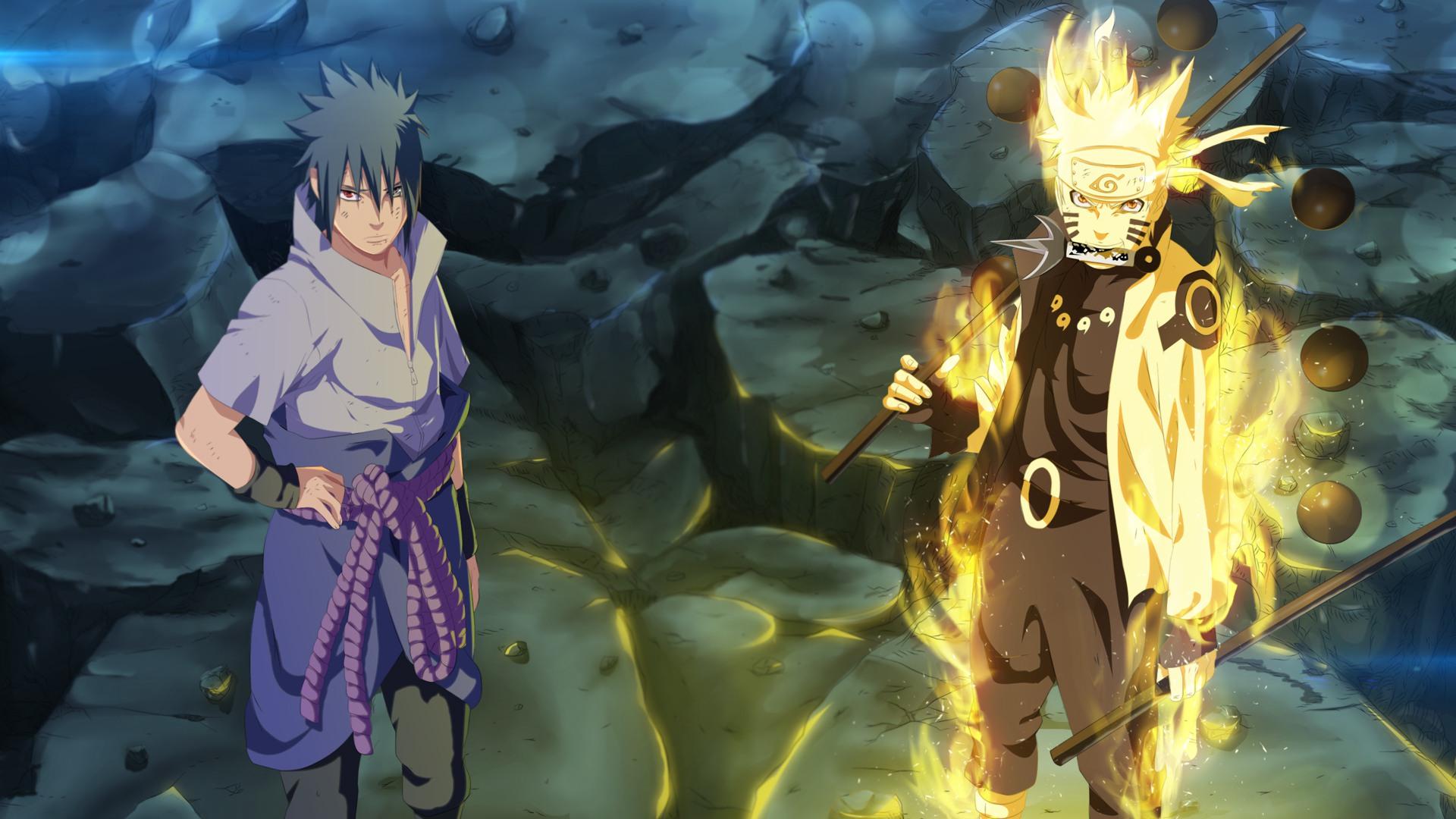 Naruto Six Paths Wallpapers Wallpapersafari