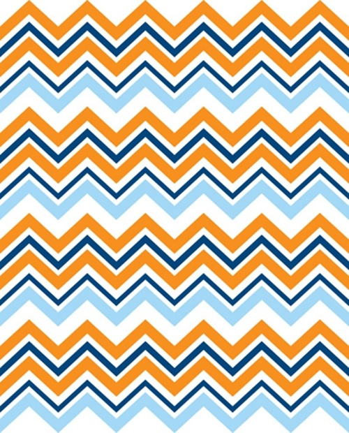 Peel and stick wallpaper Fighting Illini Orange n Blue a lisous 500x620