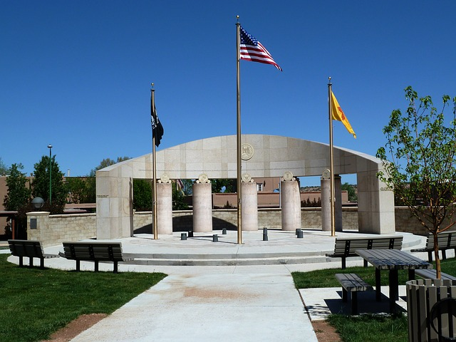 santa fe new mexico usa monument memorial building 640x480